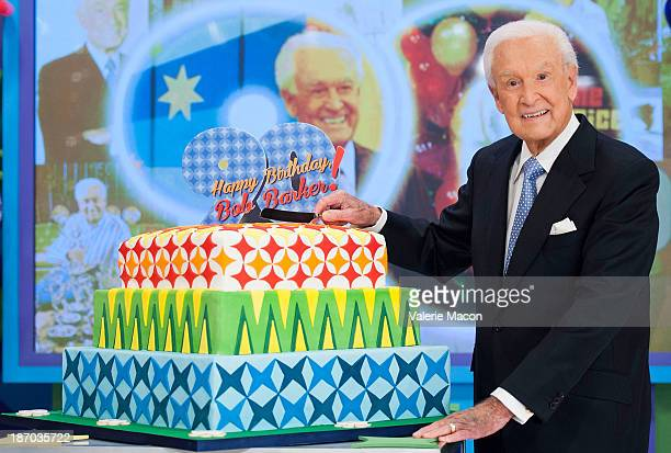 Bob Barker attends CBS' The Price Is Right Celebrates Bob Barker's 90th Birthday at CBS Television City on November 5 2013 in Los Angeles California
