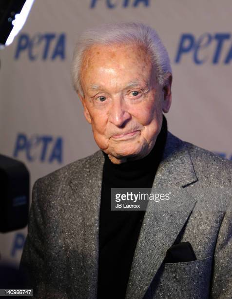 Bob Barker attends the grand opening of PETA's new Bob Barker building at The Bob Barker Building on March 8 2012 in Los Angeles California