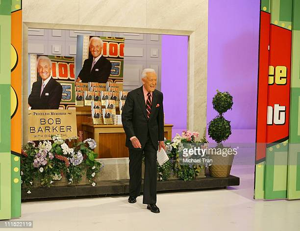 Bob Barker attends the taping for The Price Is Right held at CBS Television Studios on March 25 2009 in Los Angeles California