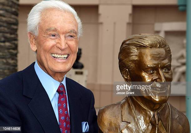 Bob Barker during Installation of Bob Barker Statue at Academy of Television Arts Sciences Hall of Fame Plaza in North Hollywood California United...