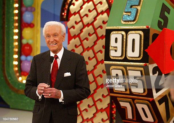 Bob Barker during The Price is Right 34th Season Premiere Taping at CBS Television City in Los Angeles California United States