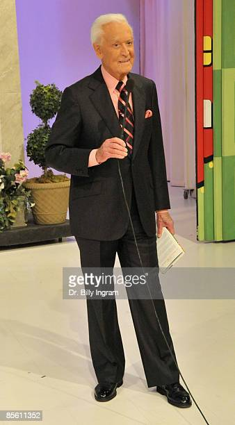 Bob Barker former host of ''The Price is Right'' makes a special appearance at CBS Studios on March 25 2009 in Los Angeles California