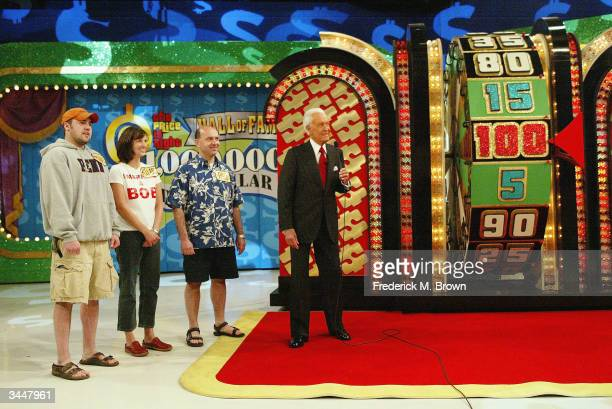 Bob Barker presents 'The Price Is Right' million dollar spectacular celebrating host Bob Barker's induction into the Academy of Television Arts and...