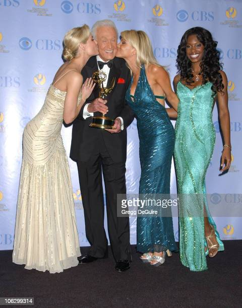 Bob Barker winner Outstanding Game Show Host award for The Price is Right and his Barker Beauties