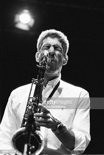 Bob Berg, tenor saxophone, performs at the BIM Huis on 14th October 1997 in Amsterdam, Netherlands.