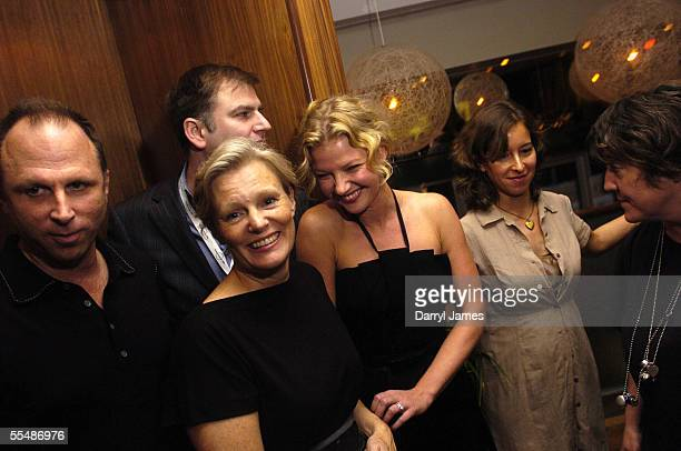 Bob Berney, director Mary Harron, co-director of the TIFF Noah Cowan, actress Gretchen Mol and producers Pamela Koffler and Christine Vachon attend...