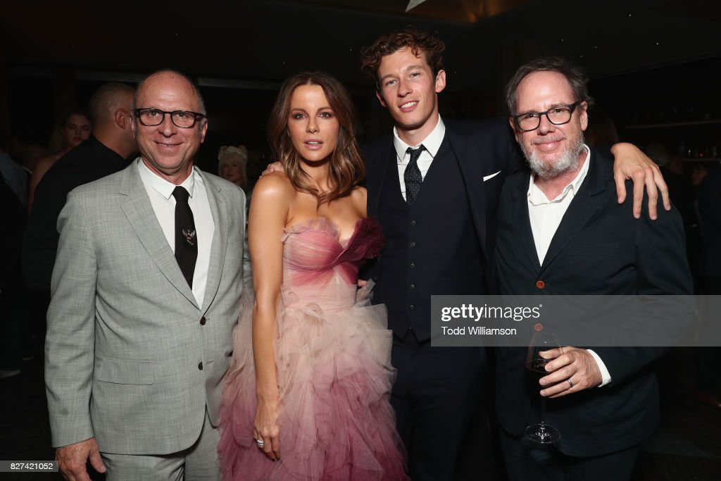 Bob Bernie, Kate Beckinsale, Callum Turner and Albert Berger attend 'The Only Living Boy In New York' Premiere after party at The Rainbow Room on August 7, 2017 in New York City.