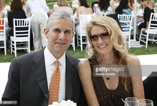 Bob Beyer and Catherine Beyer during MaxMara and the C.H.I.P.S Host A Luncheon Benefitting The Children's Institute Incorporated at Century Plaza in...