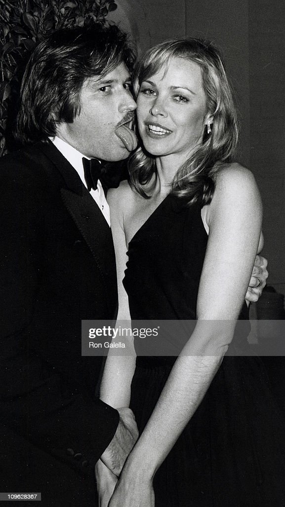 Bob Birch and Michelle Phillips during 22nd Annual GRAMMY Awards - Warner Bros. After Party at Chasen's Restaurant in Beverly Hills, California, United States.