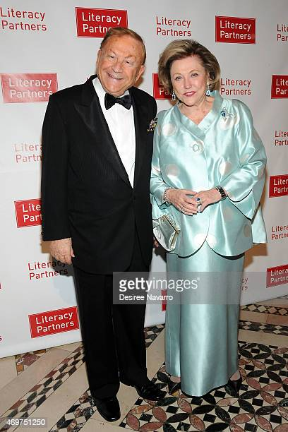 Bob Bradford and novelist Barbara Taylor Bradford attend the 29th Annual Literacy Partners Evening of Readings and Gala Dinner Dance at Cipriani 42nd...