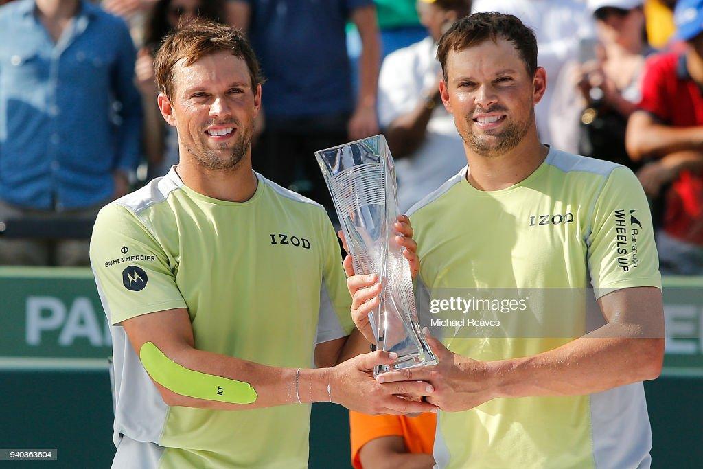 Miami Open 2018 - Day 13 : News Photo