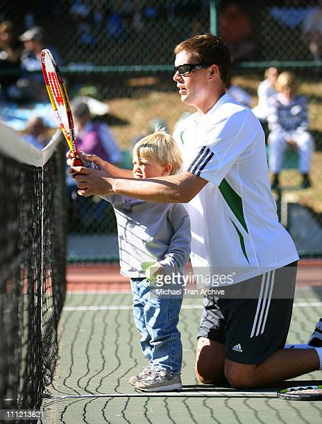 Rackets Stars Guitars December 3 2006 at Palisades Tennis Center in Pacific Palisades California United States