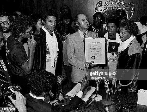 Bob Carr known as Willis the Guard WQXI/94Q presents The Recording Academy/Grammy Atlanta Chapter Special Declaration to The Jacksons on the Triumph...