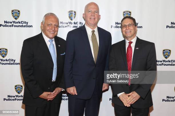 Bob Catell James O'Neill and David Antar attend the New York City Police Foundation 2018 Gala on May 17 2018 in New York City