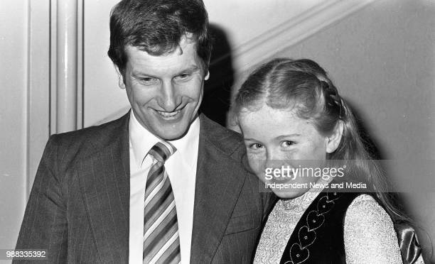 Bob Champion 1981 Grand National winning jockey pictured at a reception in the Shelbourne Hotel to announce the details of a charity walk in aid of...