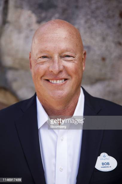 Bob Chapek chairman of Walt Disney Parks and Experiences stands for a photograph at an unveiling event of Star Wars Galaxy's Edge at Walt Disney Co's...