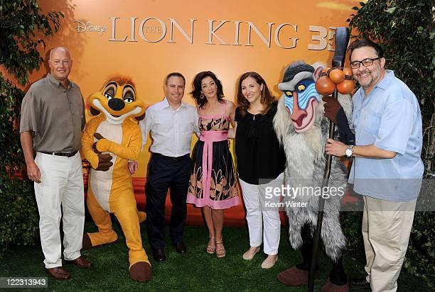 Bob Chapek President Distribution Walt Disney Studios Alan Bergman President Walt Disney Studios actress Moira Kelly Lori MacPherson Exec VP Product...