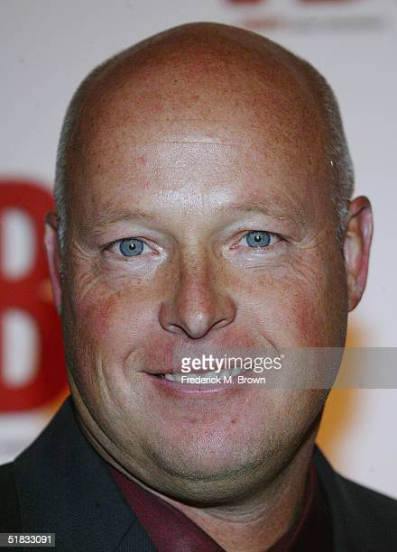 Bob Chapek President of Buena Vista Home Entertainment attends the Video Hall of Fame Awards at the Beverly Hilton Hotel on December 6 2004 in...