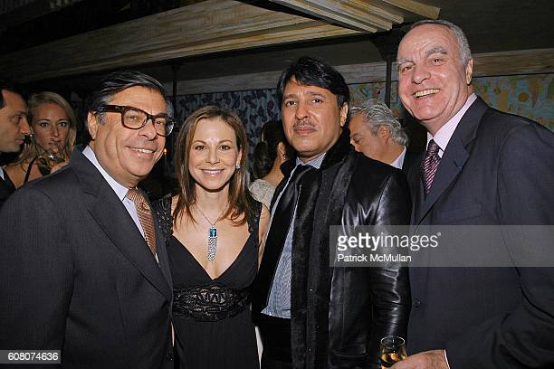 Bob Colacello Bettina Zilkha Mubarak AlSabah and Andre Dunstetter attend A Private Dinner to Celebrate LES PERLES DE CHANEL Hosted by Marjorie...