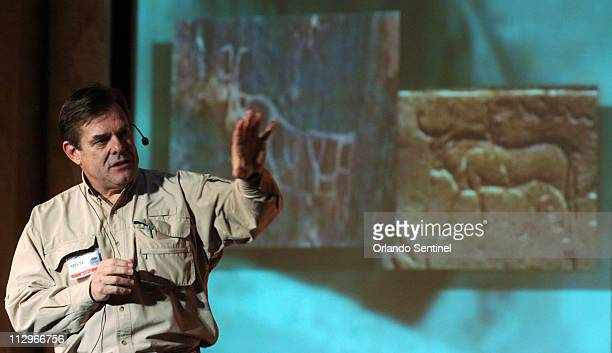 Bob Cornuke speaks at the Holy Land Experiance in Orlando Florida Tuesday January 9 2007 Cornuke has brought to the forefront that many of the...