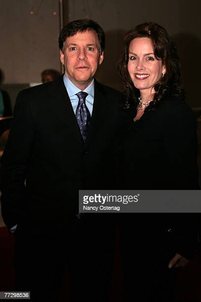 Bob Costas and Jill Sutton arrive at the Tenth Annual Mark Twain Prize Awards on October 11 2007 in Washington DC