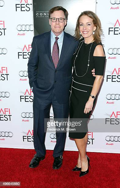 Bob Costas and Jill Sutton attend the Centerpiece Gala Premiere of Columbia Pictures' Concussion during AFI FEST 2015 presented by Audi at the TCL...