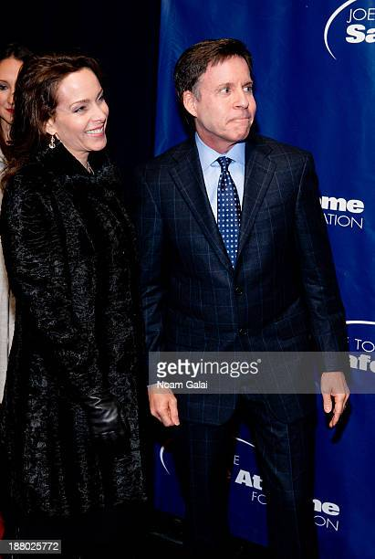 Bob Costas and wife Jill Sutton attend the 11th Anniversary Joe Torre Safe At Home Foundation Gala at Pier Sixty at Chelsea Piers on November 14 2013...