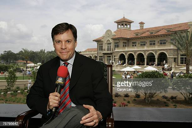 Bob Costas during the third round of THE PLAYERS Championship held on THE PLAYERS Stadium Course at TPC Sawgrass in Ponte Vedra Beach Florida on May...