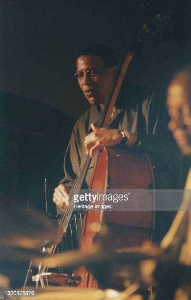 Bob Cranshaw, Swinging Jazz Party, Blackpool, 2005. Artist Brian Foskett.
