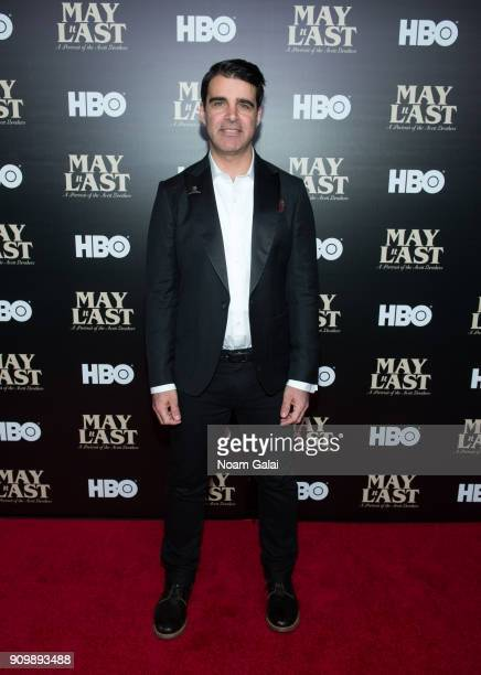Bob Crawford of The Avett Brothers attends HBO's 'May It Last A Portrait of The Avett Brothers' NYC premiere on January 24 2018 in New York City