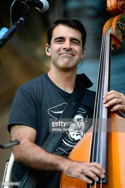 Bob Crawford of the Avett Brothers performs during Pilgrimage Music Cultural Festival on September 23 2017 in Franklin Tennessee
