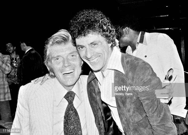 Bob Crewe and Frankie Valli during Bob Crewe's Birthday Party at Cachaca - August 8, 1977 at Cachaca in New York City, New York, United States.