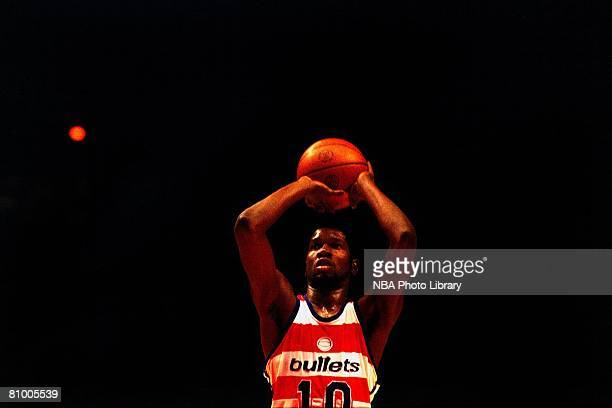 Bob Dandridge of the Washington Bullets shoots against the Seattle Supersonics in Game Six of the 1978 NBA FInals at the Capital Centre on June 4,...