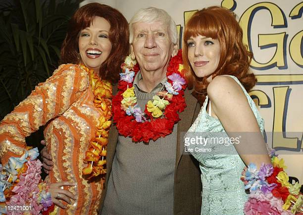 Bob Denver and Ginger characters during Warner Home Video's Gilligan's Island DVD Launch Event at FantaSea Yatch Club in Marina del Rey California...