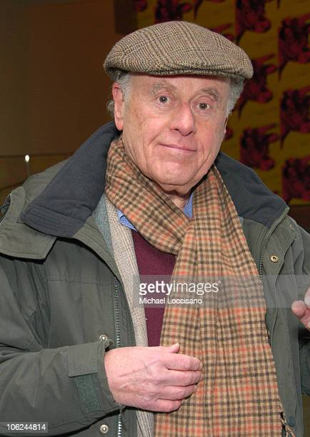 Bob Dishy during Miss Potter Special Private Screening at MoMA Theatre in New York City New York United States