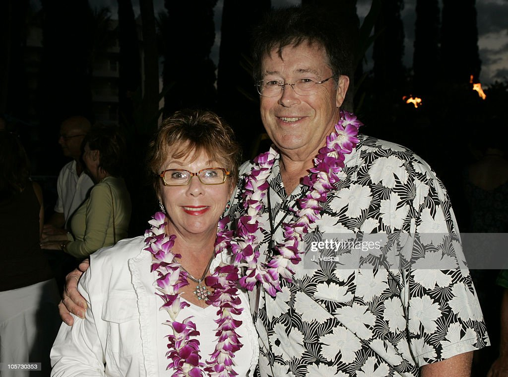 Bob Dowling and his wife during 2005 Maui Film Festival - Opening Night Twilight Reception at Fairmont Kea Lani Hotel in Maui, Hawaii, United States.