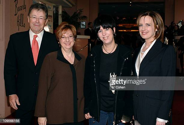 Bob Dowling editorinchief of the Hollywood Reporter Betty Cohen President and CEO of Lifetime Television Network Diane Warren and Anne Sweeney...