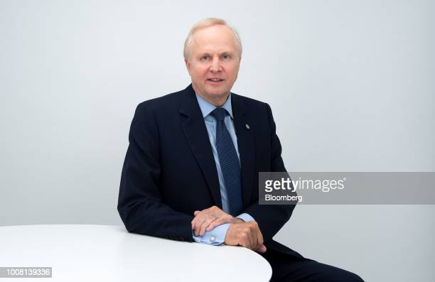Bob Dudley chief executive officer of BP Plc poses for a photograph following a Bloomberg Television interview in London UK on Tuesday July 31 2018...