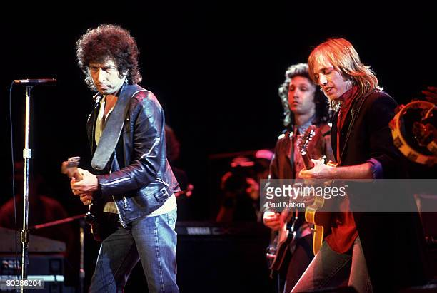 Bob Dylan and Tom Petty at Farm Aid