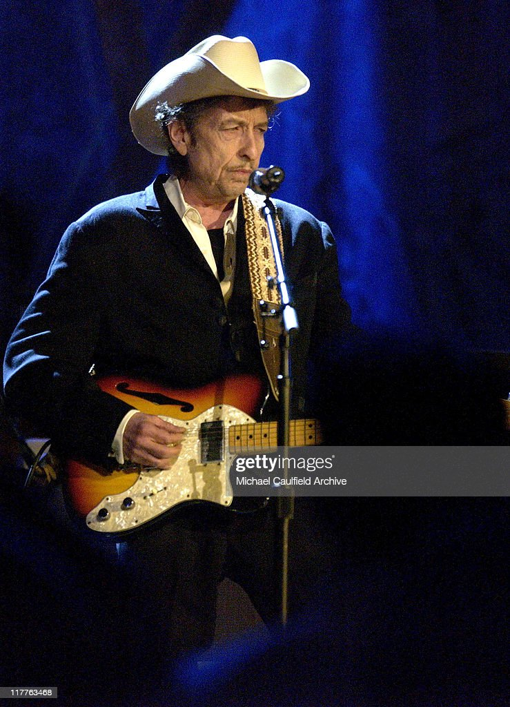 Bob Dylan during Willie Nelson and Friends: 'Outlaws & Angels' - Show and Backstage at Wiltern Theatre in Los Angeles, California, United States.