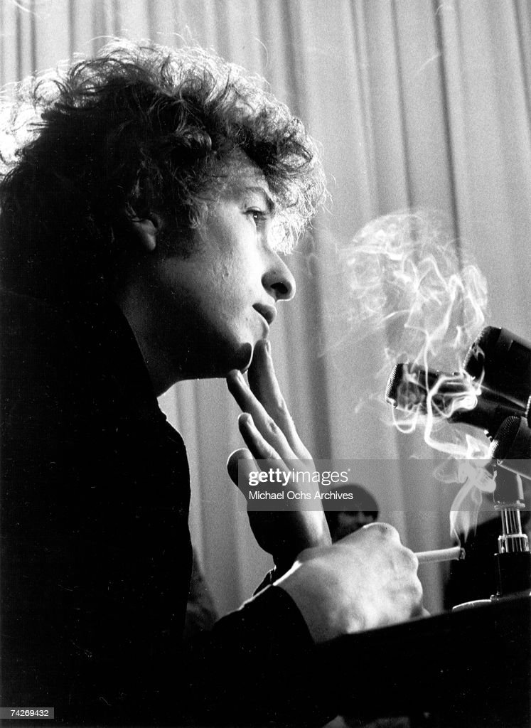 Bob Dylan Smoking by Jerry Schatzberg on artnet