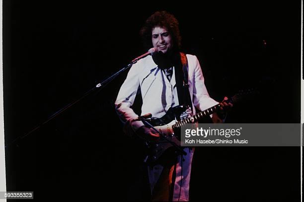 Bob Dylan live at Nippon Budokan Tokyo February 20 1978