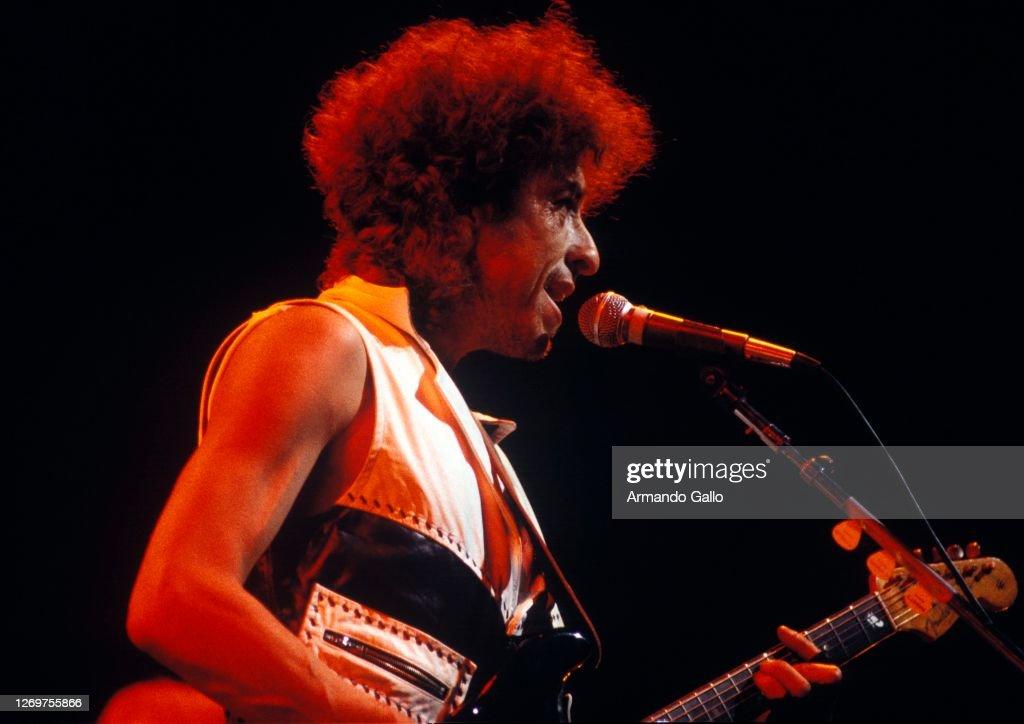Bob Dylan Performing : ニュース写真