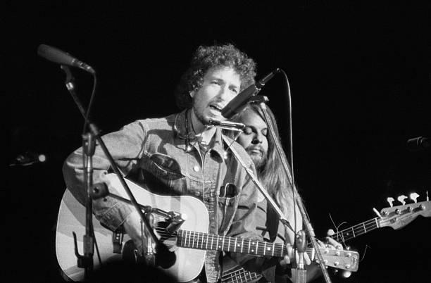 Bob Dylan Performs At Madison Sq Garden
