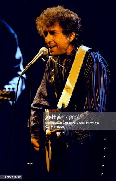 Bob Dylan performs at the Concord Pavilion.