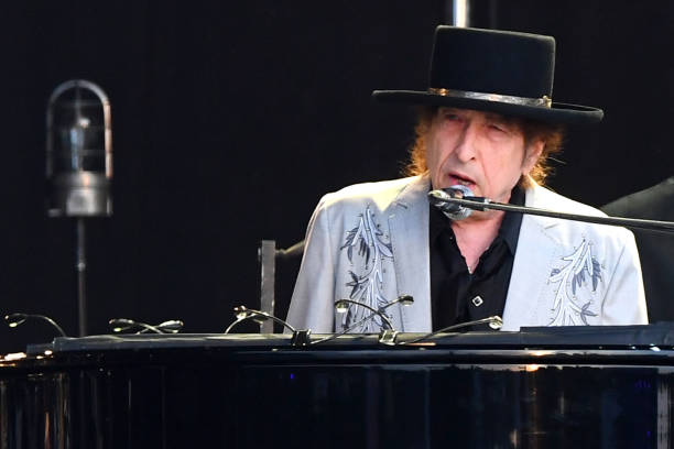 GBR: Bob Dylan And Neil Young Perform Hyde Park - London