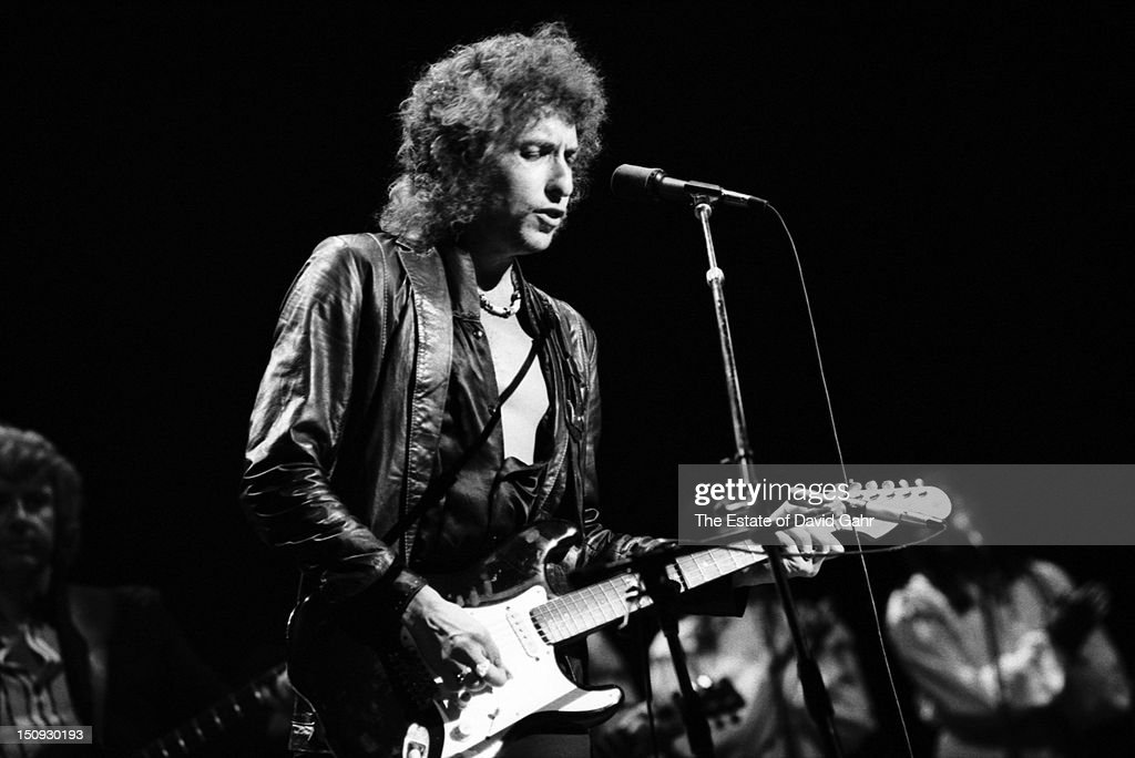 Bob Dylan performs on September 29, 1978 at Madison Square Garden in New York City, New York.