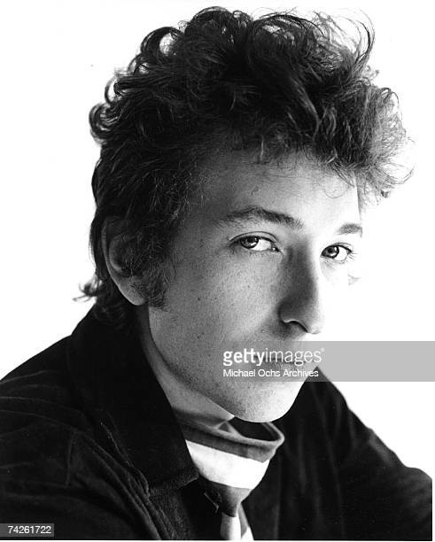 Bob Dylan poses for a portrait in 1963.