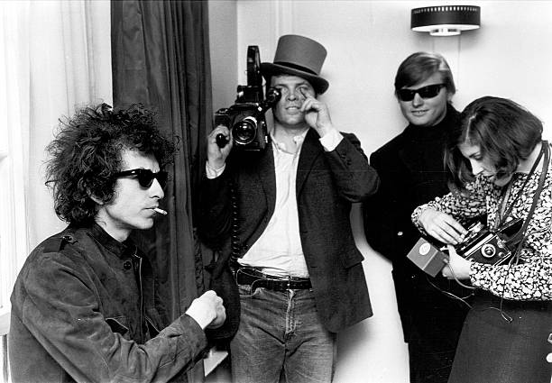 Bob Dylan & D.A. Pennebaker from 'Don't Look Back'