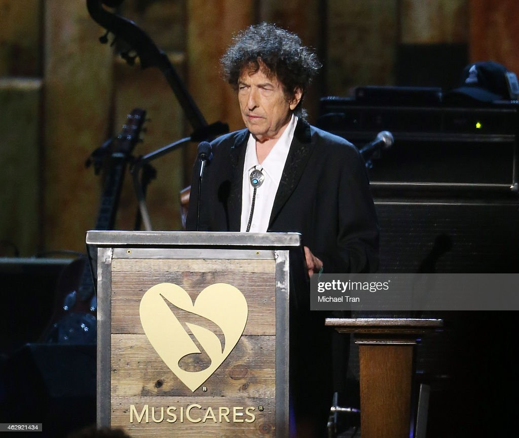 2015 MusiCares Person Of The Year Honoring Bob Dylan - Show : News Photo